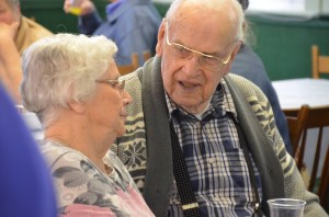 Gramps with his sister Grace at his 90th birthday April 2014